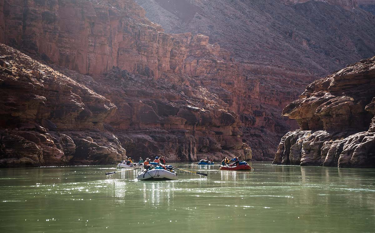 Grand Canyon rafting (river)