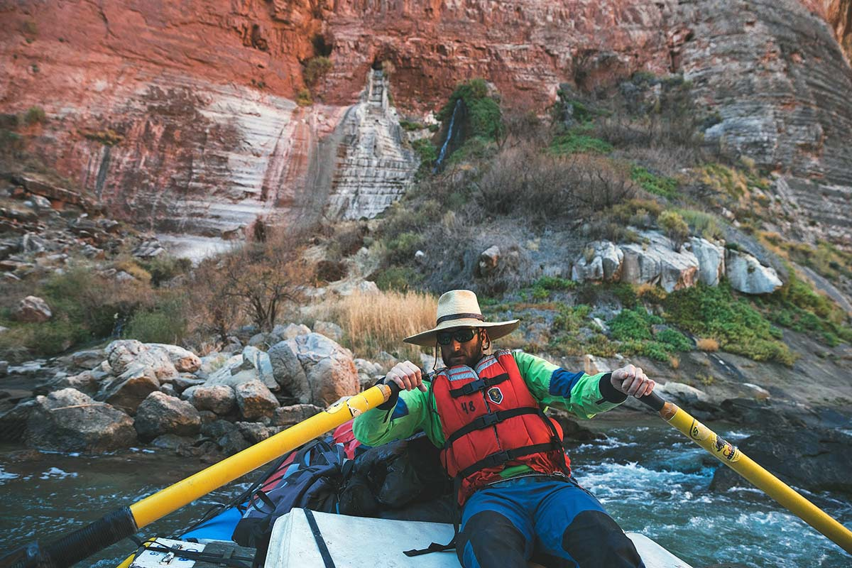 Grand Canyon rafting (rowing)