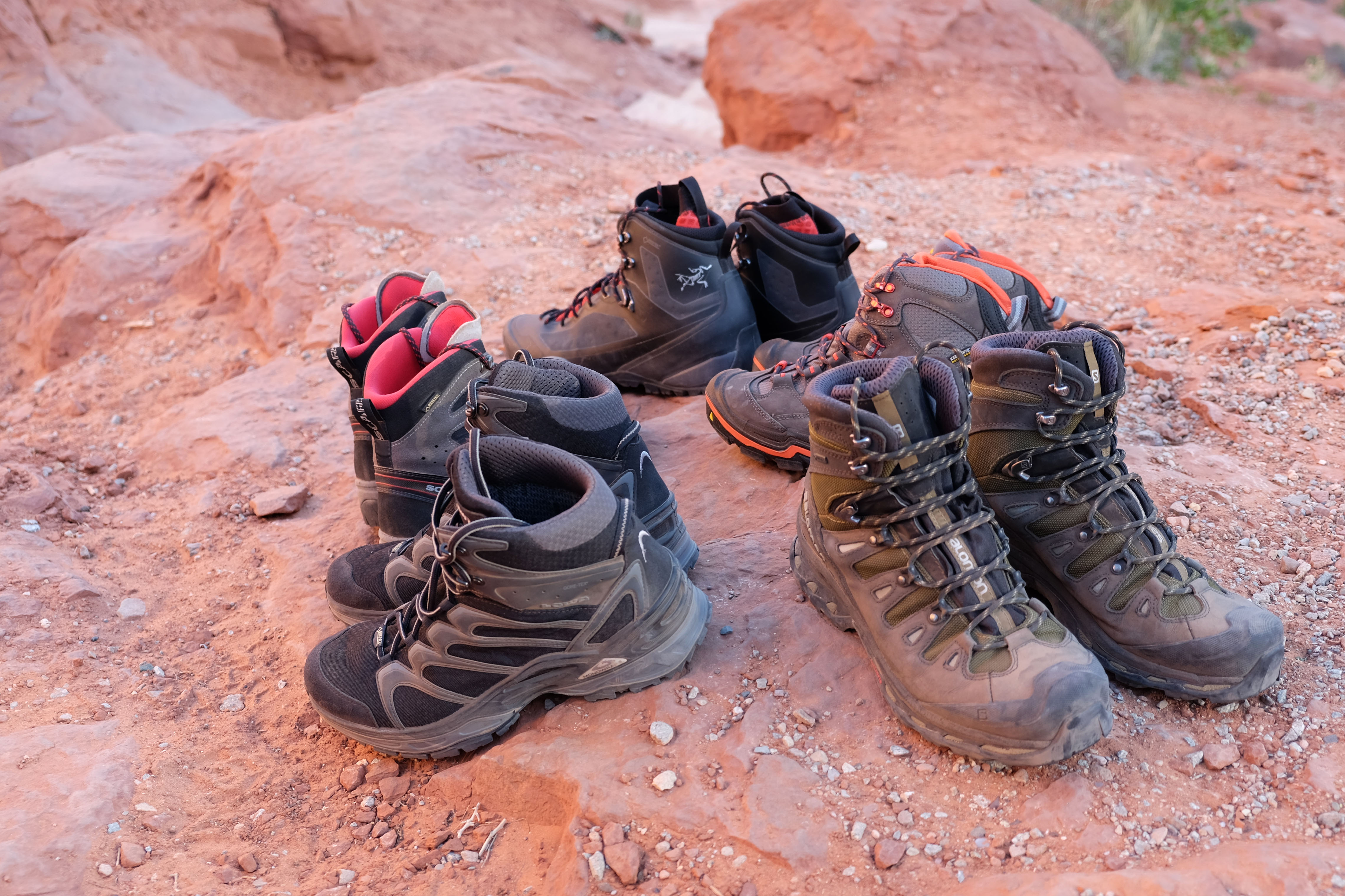 Hiking Boot Test