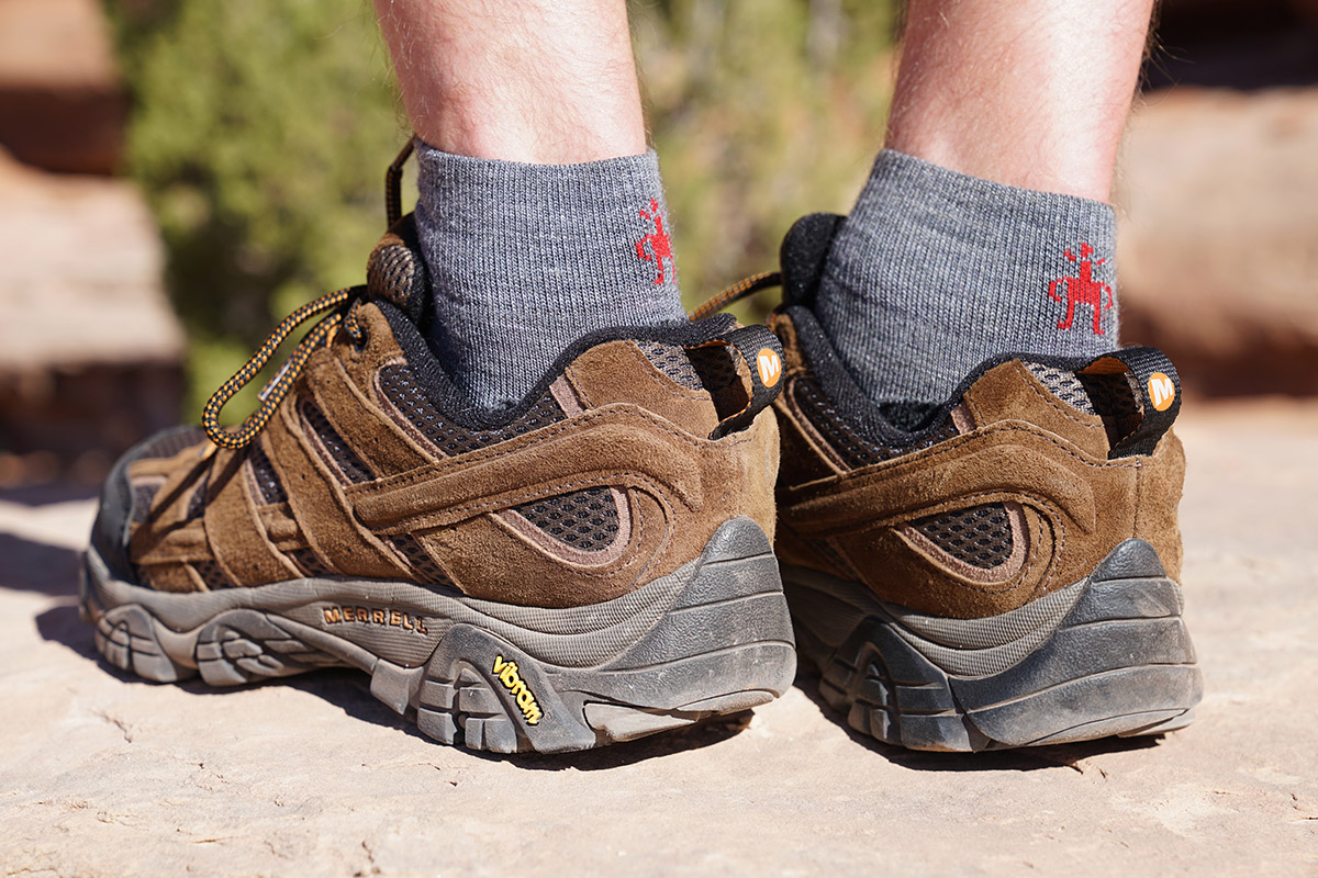 Hiking Socks (quarter height with shoes)