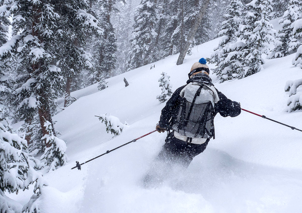 Hyperlite Windrider backcountry skiing