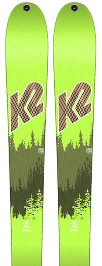 K2 Wayback 88 skis 2018
