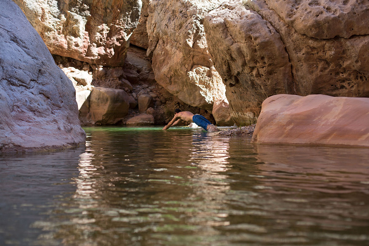 Kanab Creek (swimming)