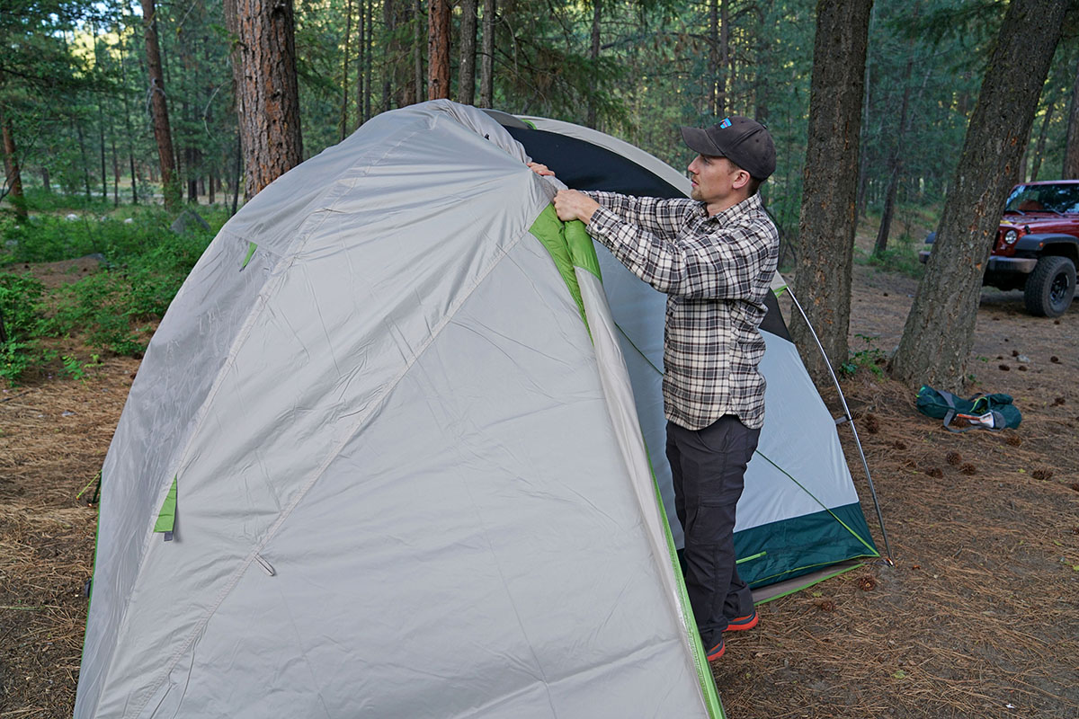 Kelty Trail Ridge camping tent (rainfly)