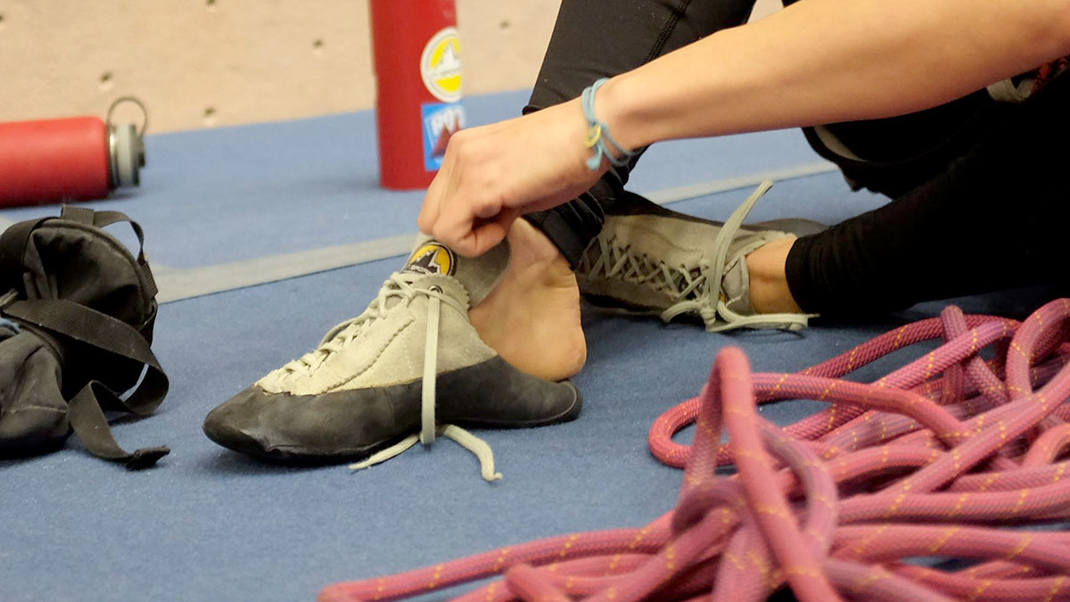8973a4362cae7 Best Rock Climbing Shoes for Beginners | Switchback Travel