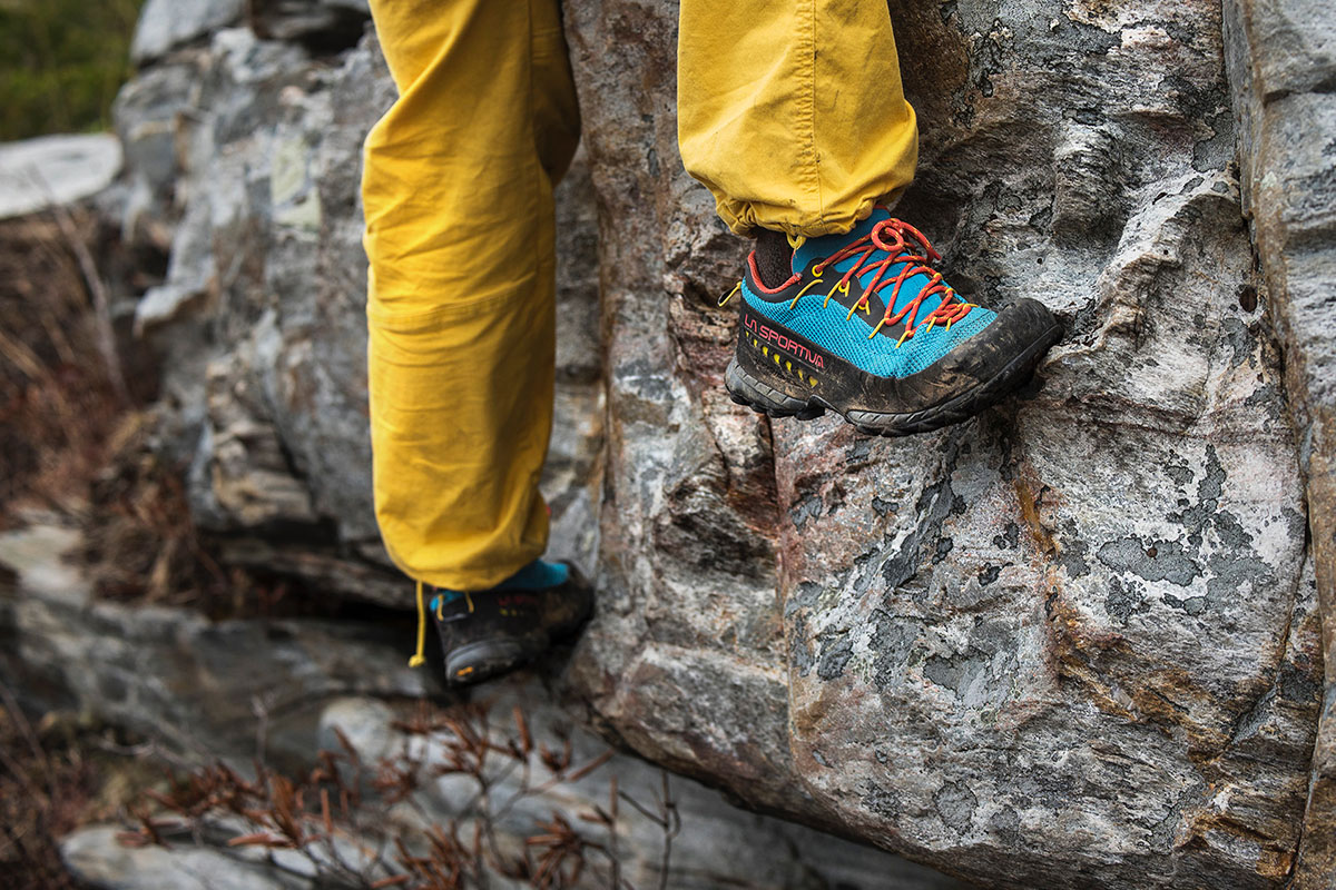 La Sportiva TX3 (edging)