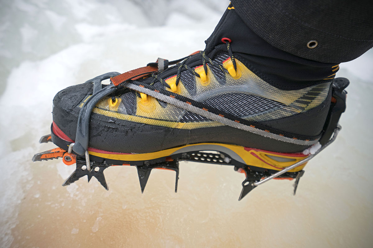 Using hybrid crampons with the La Sportiva Trango Ice Cube boots a2b9d816a9c