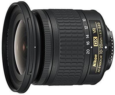 Objetivo Nikon 10-20 mm f4.5-5.6