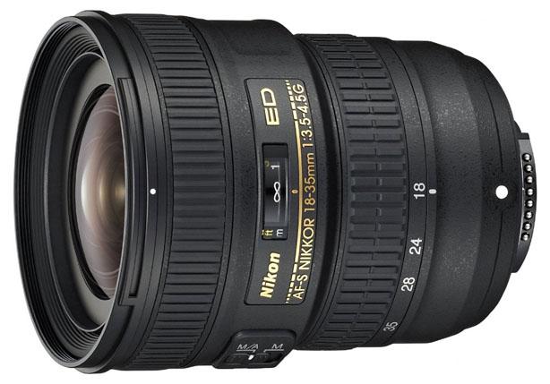 Objetivo Nikon FX de 18-35 mm