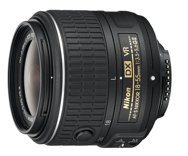 Nikon 18-55mm VR II lens