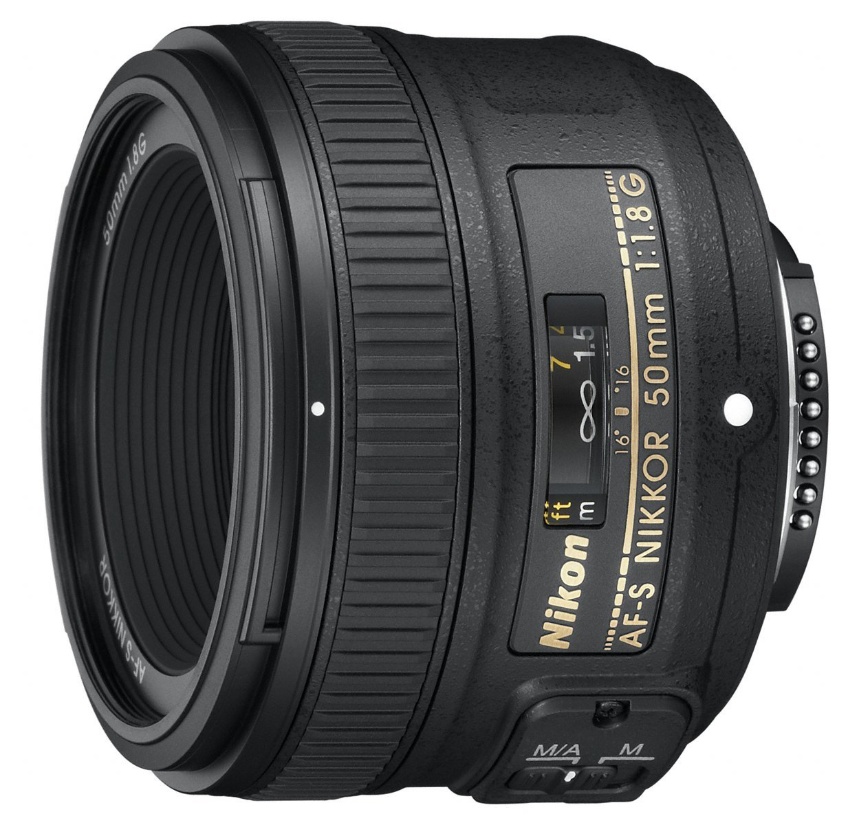 Objetivo Nikon de 50 mm f1.8