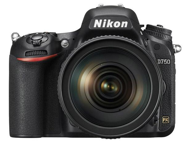 Nikon D750 full-frame camera