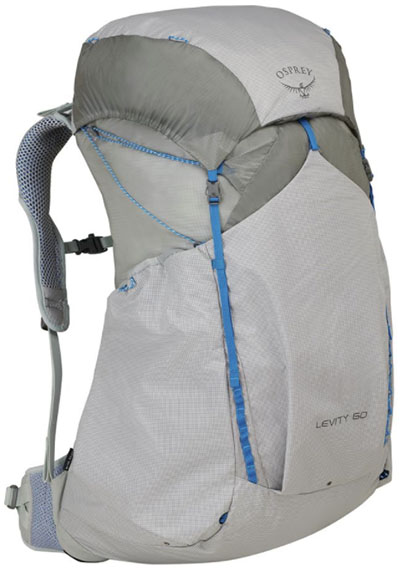 2f70a58293 Osprey Levity 60 backpacking pack