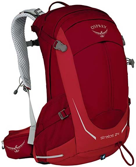 Most Comfortable Daypack for Heavy Loads. 4. Osprey Stratos 24 ( 130) aa27915e7c931