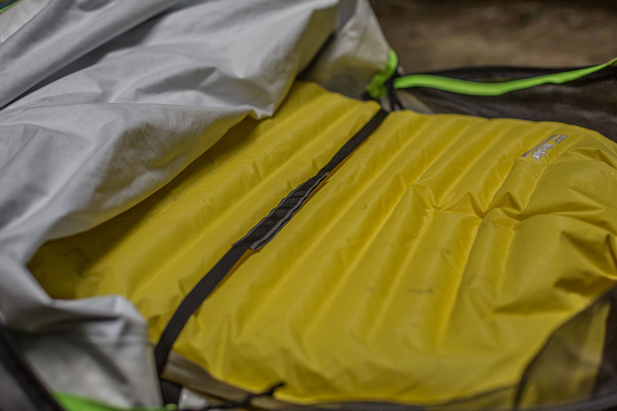 Outdoor Research Alpine bivy pad straps
