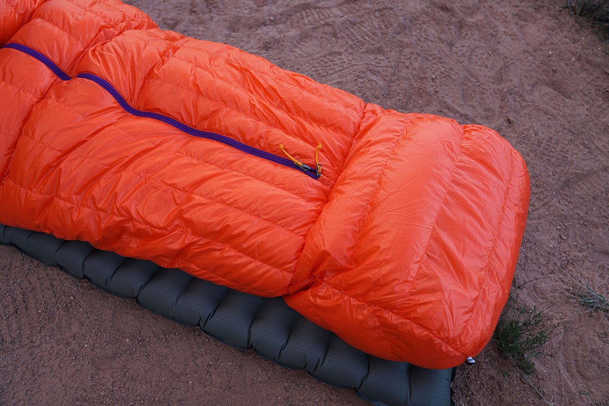 Patagonia 850 Down Sleeping Bag (foot box)