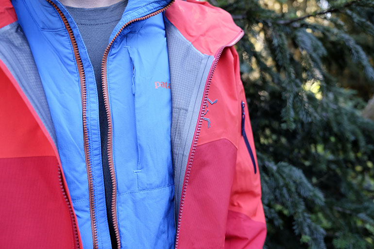 ef2048358a Our top-rated Patagonia Nano-Air worn under the Arc'teryx Rush ski shell