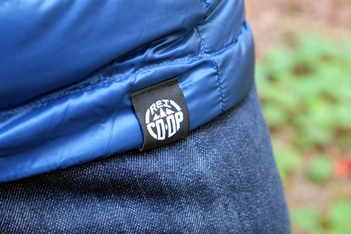 REI Co-op Down Jacket logo