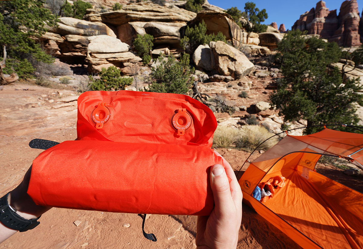 Rei S Flash Pad Has Dedicated Inflate And Deflate Valves