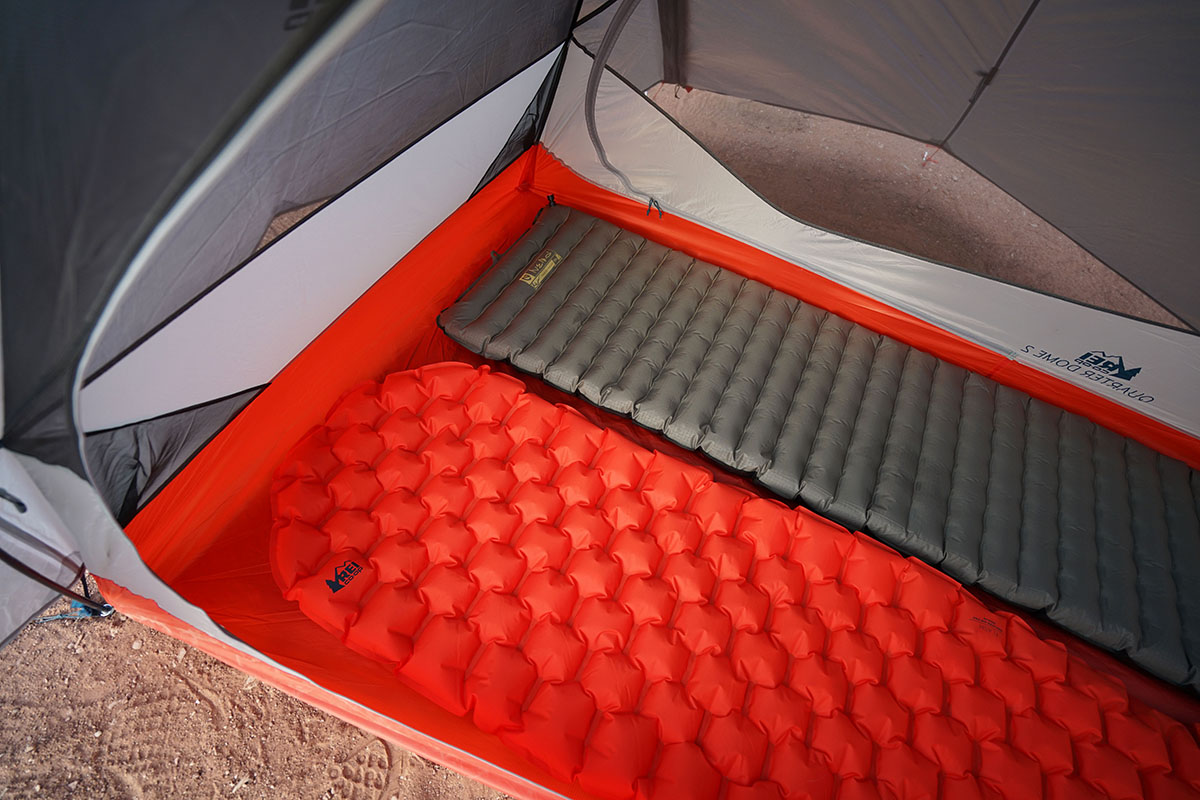 REI Quarter Dome (two sleeping pads)