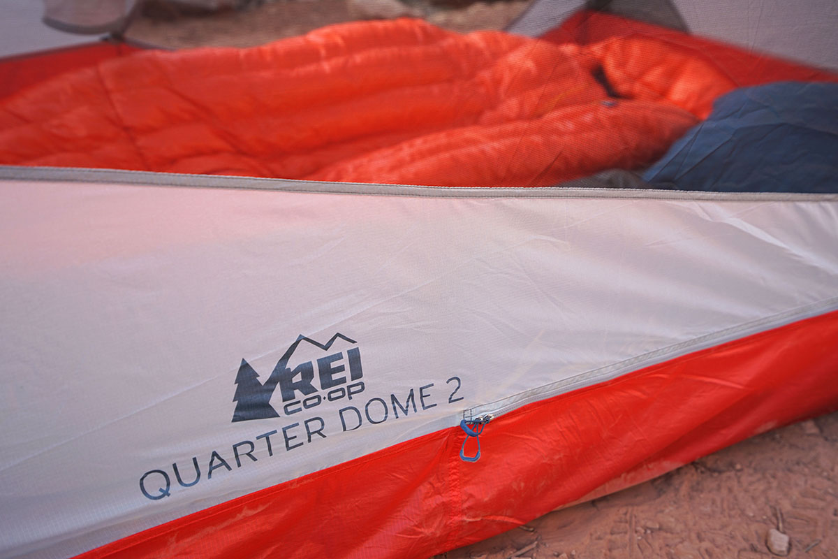 REI Quarter Dome 2 (logo)