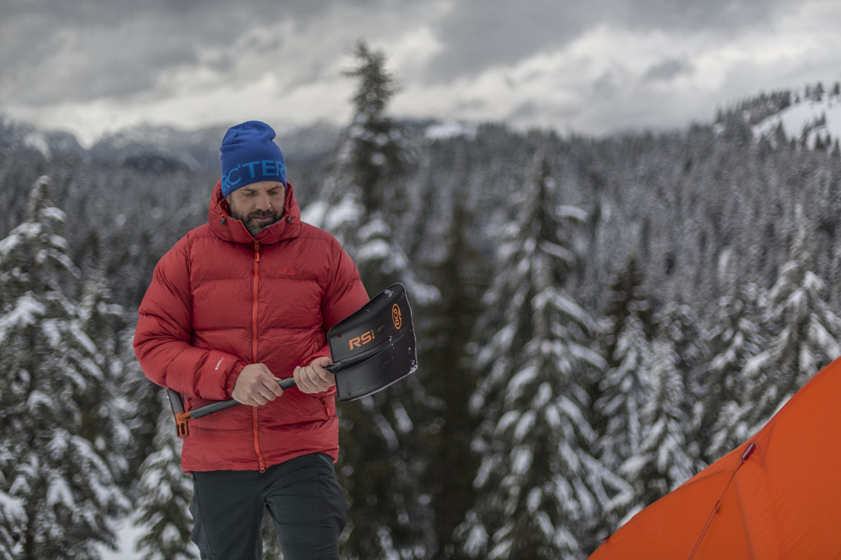 Rab Neutrino Endurance jacket (shovel)