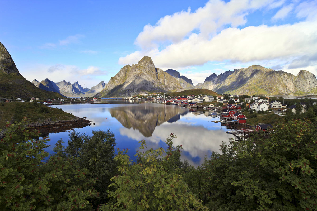 Reine, Norway at 21mm
