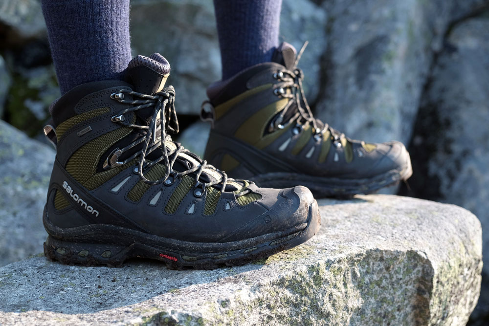 Review: Salomon Quest 4D 2 GTX | Switchback Travel