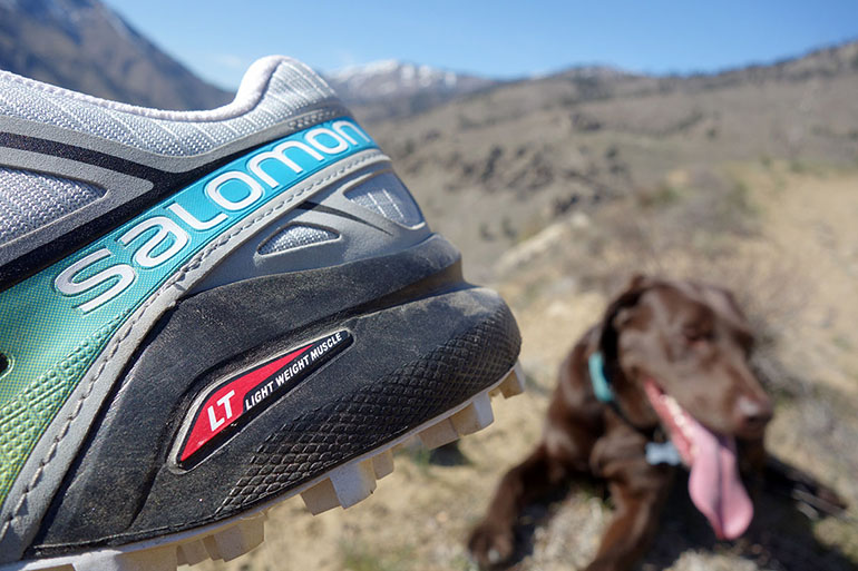 Salomon Speedcross and Jessie