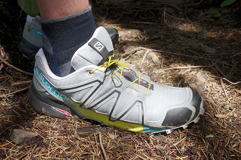 Salomon Speedcross muddy trail
