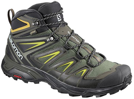 Salomon X Ultra 3 Mid hiking boots