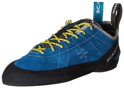 Scarpa Helix beginner climbing shoes