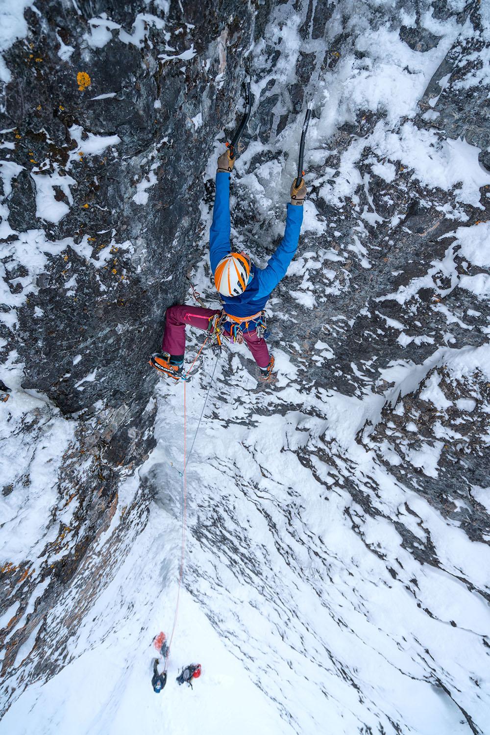 b23d1ecc49178 Climbing in the Scarpa Phantom Tech