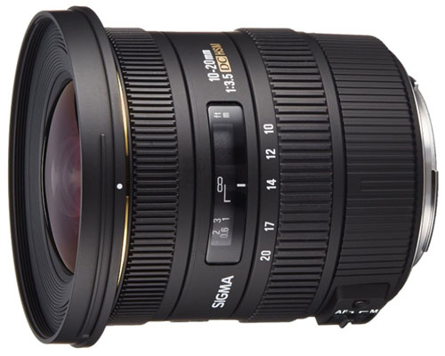 Sigma 10-20mm lens for Canon