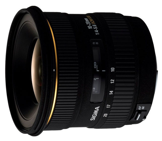 Sigma 10-20mm lens for Nikon