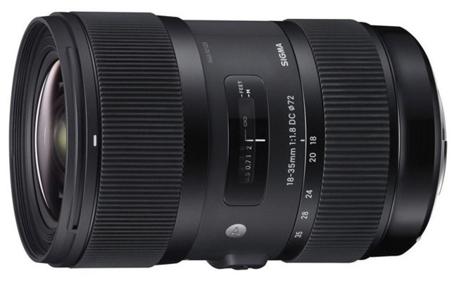Sigma 18-35mm Canon lens