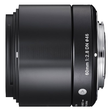 Sigma 60mm E-mount lens
