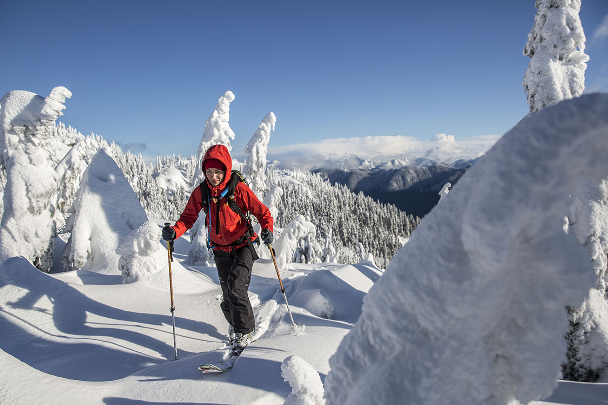 789f3f3e681 Backcountry skiers put a premium on the breathability of their pants