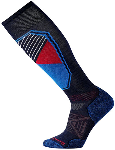 Smartwool PhD Light Pattern ski socks
