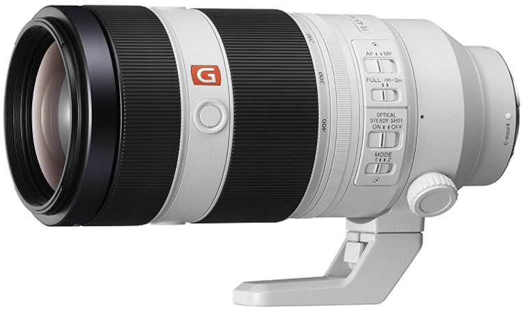Sony 100-400mm f4.5-5.6 GM lens