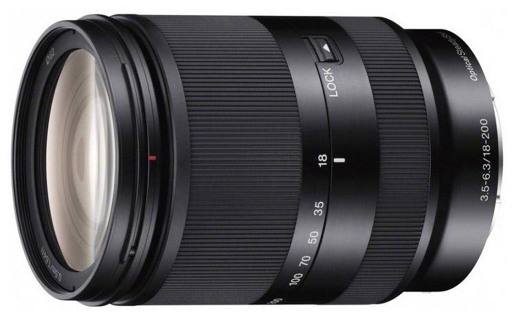 Sony 18-200mm lens