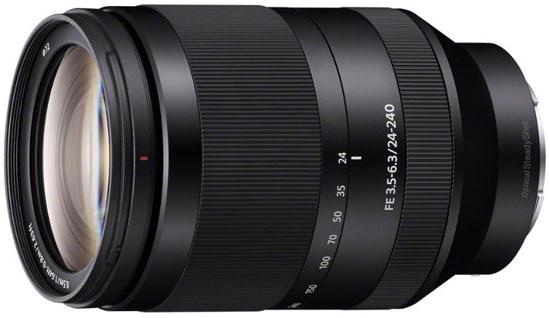Sony 24-240mm FE lens