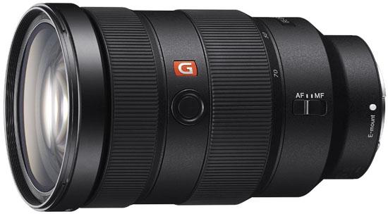 Sony 24-70mm f2.8G lens