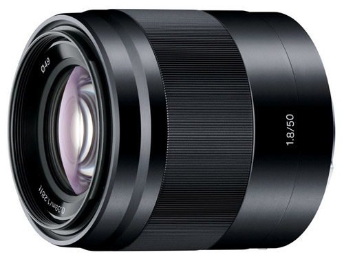 Sony 50mm E-mount lens