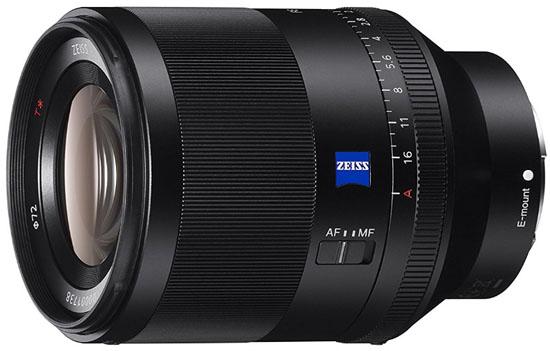Sony 50mm f1.4 FE lens