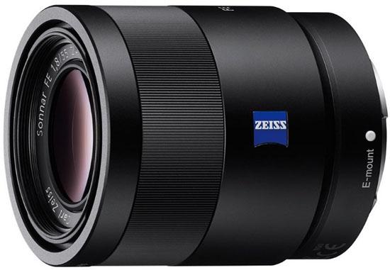 Sony 55mm f1.8 FE lens