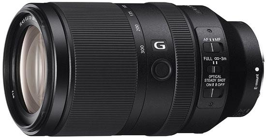 Sony 70-300mm FE lens