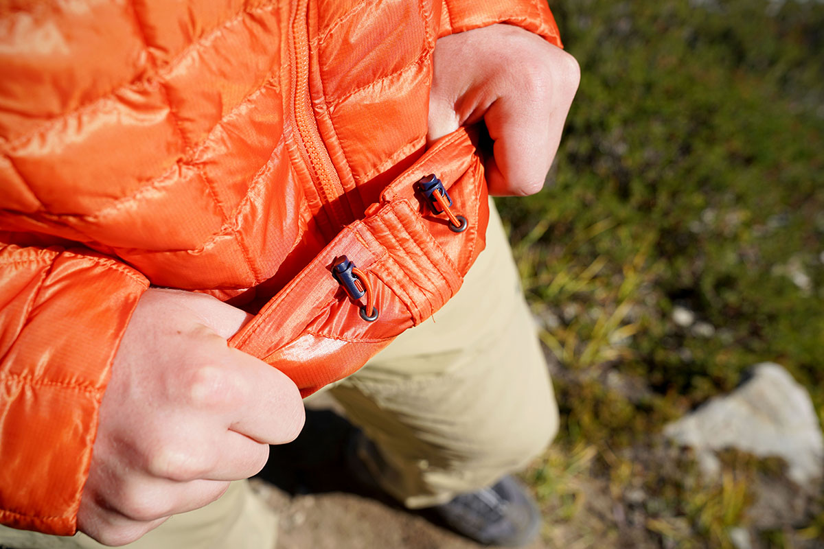 The North Face ThermoBall (waist cinches)