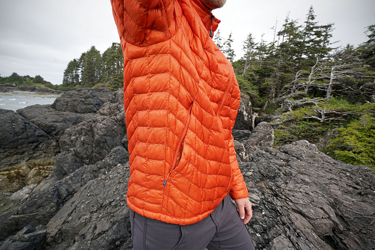 The North Face Thermoball (side panel)