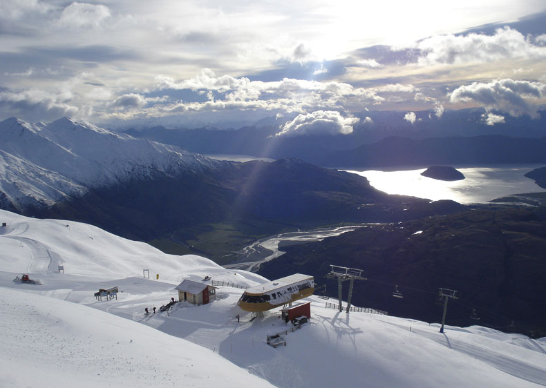Treble Cone ski resort, Wanaka